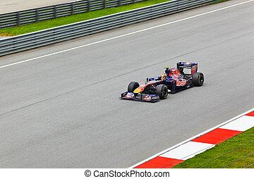 SEPANG, MALAYSIA - APRIL 8: Jaime Alguersuari team Scuderia...