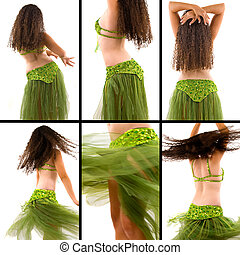 Belly Dancer - Belly dancing collage