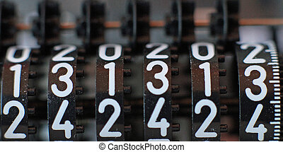 counter with all thirteen numbers in sequence - Lucky...