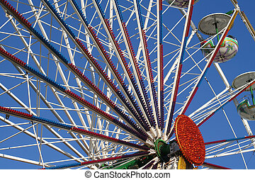fair - a big wheel at a fair