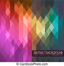 Disco club flyer template. Abstract background to use for...
