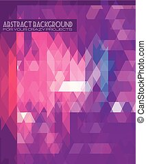 Disco club flyer template Abstract background to use for...