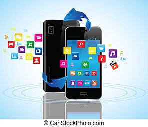 Smart phones apps