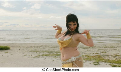 Belly Dance by the Seaside