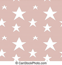 Lace seamless pattern with stars