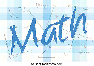 School Math Class Vector Illustration