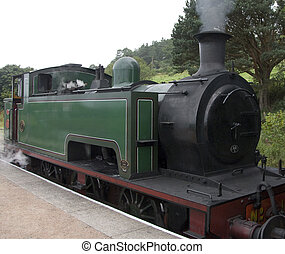 Steam Locomotive - Antique Steam Locomotive