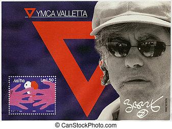 MALTA - CIRCA 2006: A stamp printed in Malta shows Bob...