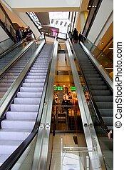 Escaleras mecánicas, alameda