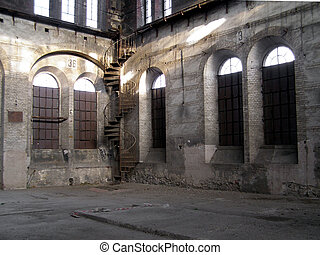 abandoned factory - Abandoned factory industrial archeology...