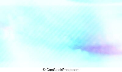 Soft flowing blue and White loop