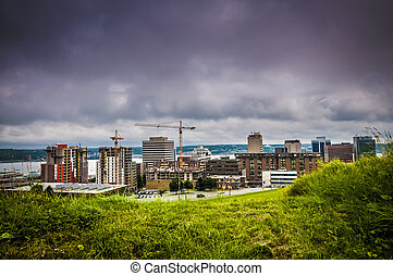 Halifax - Panoramic view of the city of Halifax Nova Scotia...