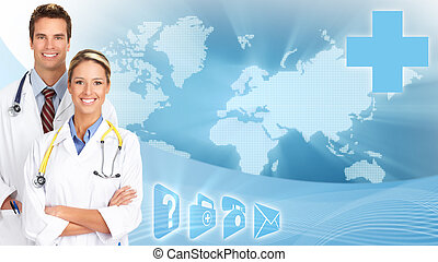Medical doctors - Medical doctors over scientific global...