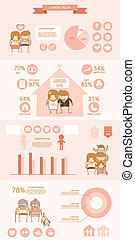 couple love life expense infographic