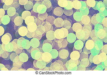 Abstract circular vintage bokeh background