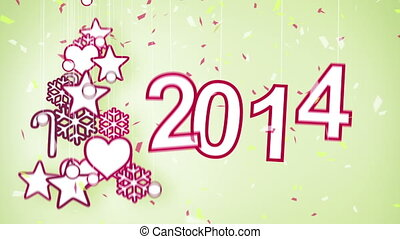 2014 new year celebration loop - 2014 new year celebration...