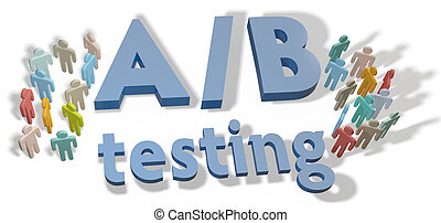 A B Testing marketing experiment - A B Testing website...