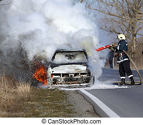 自動車, 燃焼