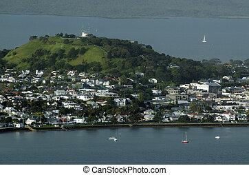 Devonport Auckland New Zealand NZ - DEVONPORT, NZ - OCT 08:...