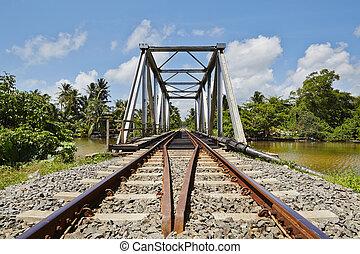 Railway bridge in Sri Lanka