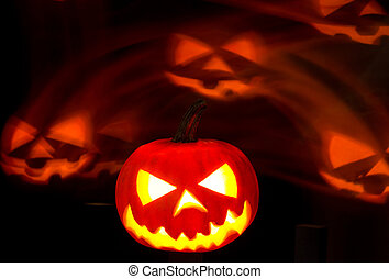Halloween background - Scary Halloween background with...