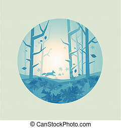 Fresh Forest Scenic