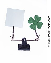 Saint Patricks Day Composition, conceptual studio isolated...