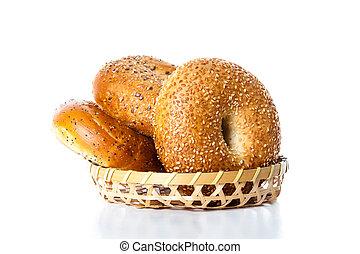 cesta, Rosquillas de pan