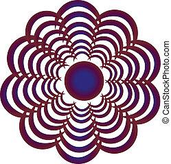 Vector logo sign
