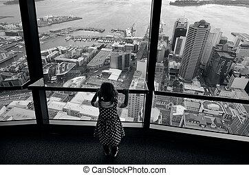 Sky Tower - Auckland New Zealand NZ - AUCKLAND - OCT...