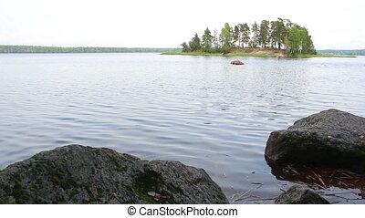 Monrepo park in Vyborg Russia