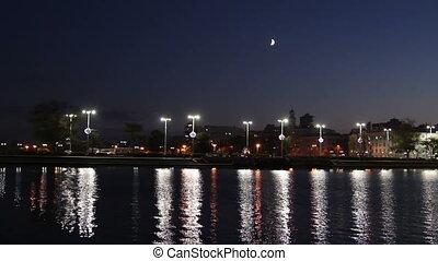 Night view of Yekaterinburg