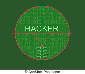 Hacker target madde in 2d software