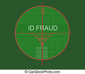 target id fraud - id fraud made in 3d software
