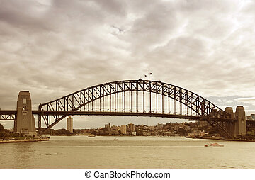 Sydney Harbour Bridge - View of the Sydney Harbour Bridge...