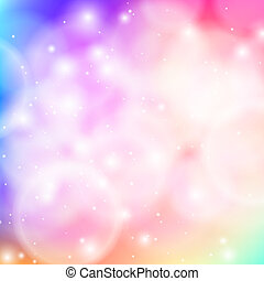 Bokeh background - Shining vector abstract bokeh background...