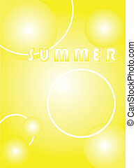 summer - vector illustrtion with summer theme EPS8 no...