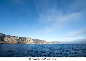 Catalina Island Sky - A deep blue sky morning at Catalina...
