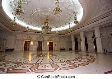 very large luxurious room