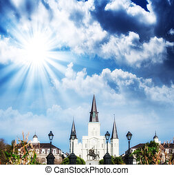 Saint Louis Cathedral, New Orleans