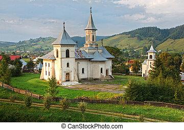romanian mountain landscape - romanian moutain landscape and...