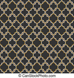 Arabic seamless pattern. Vector EPS10