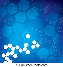Hexagonal Background - An abstract backgrounds with hexagons