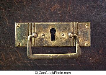 llave, agujero
