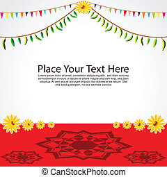 Festival Background Vector illustration