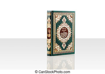 An image of Quran on a white backgr - The Quran literally...