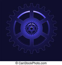 vector gear - cog wheel