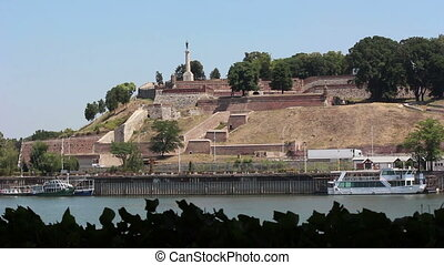 Belgrade, river, fortress, victor monument