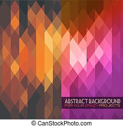Sophisticated hipster abstract grunge background -...