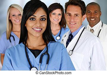 medicos, Enfermera